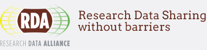 Research Data Alliance - Research Data Sharing without barriers