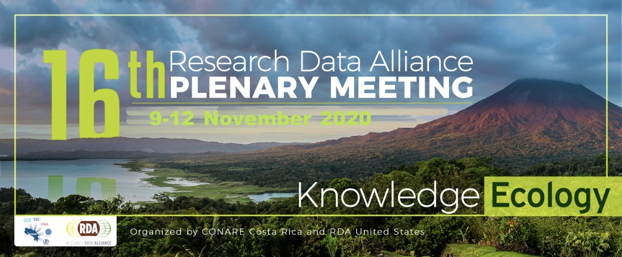 RDA 16th Plenary Meeting - Costa Rica (Virtual)