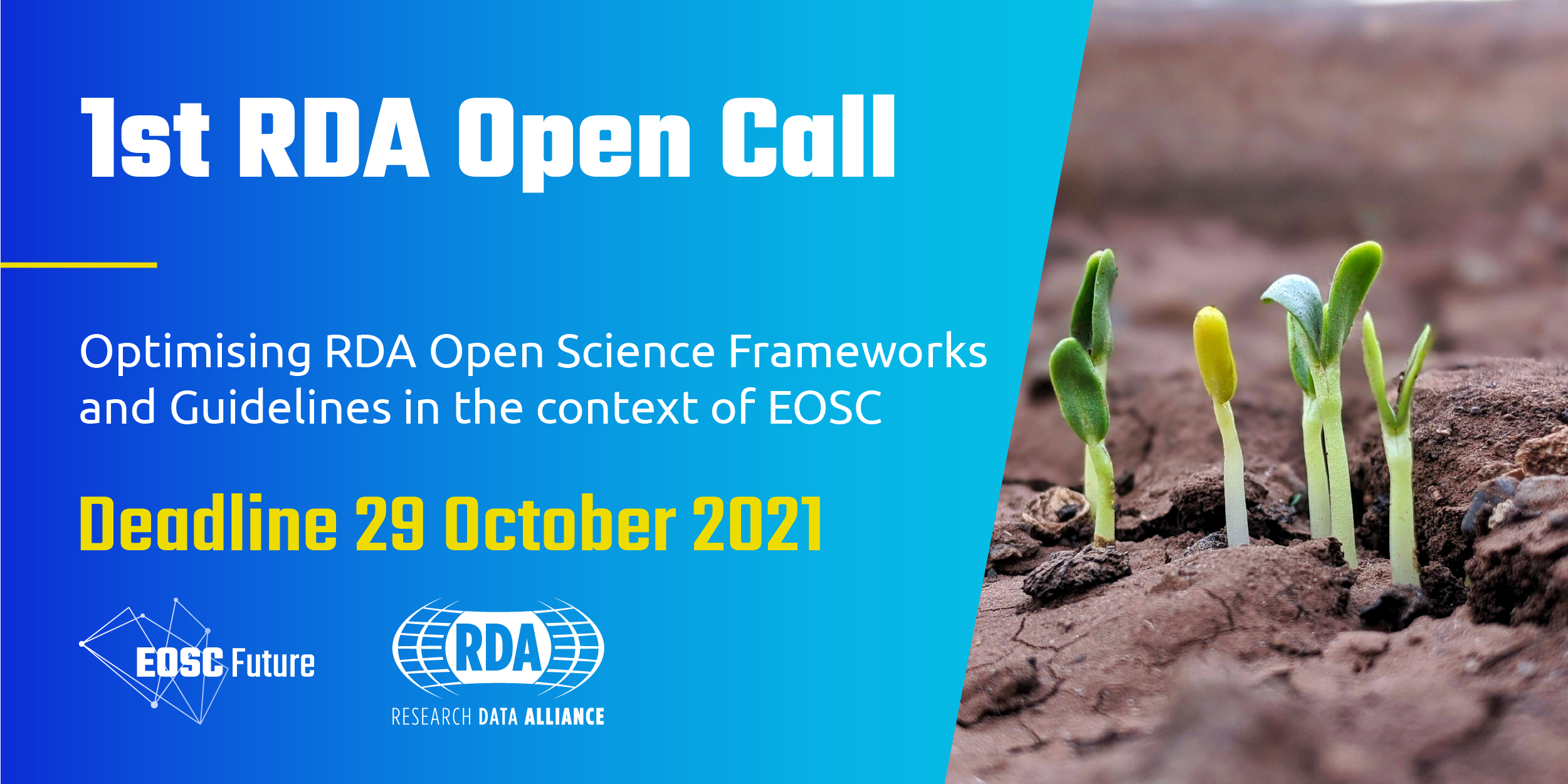 Research Data Alliance (RDA) grants to support the European Open Science Cloud (EOSC) Informative meeting