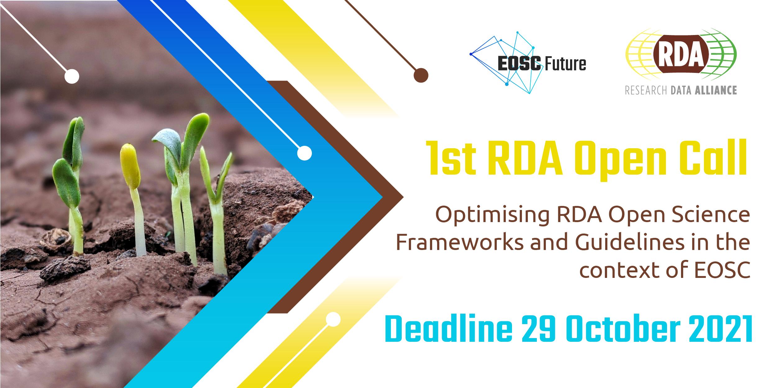 RDA  - EOSC Future Open Call