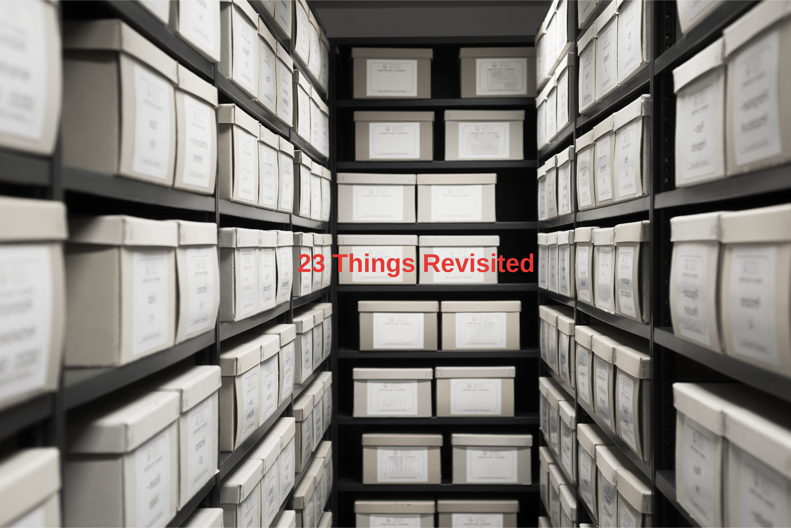 23 Things Revisited - Practical Tips for Research Data Management
