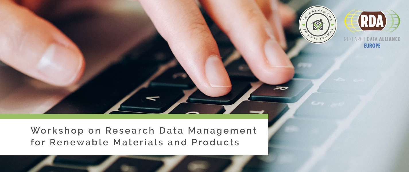 Workshop on Research Data Management for Renewable Materials and Products