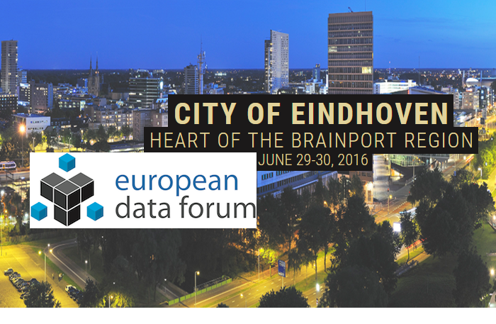 European Data Forum (EDF) 2016, 29-30 June  2016, Eindhoven, the Netherlands.