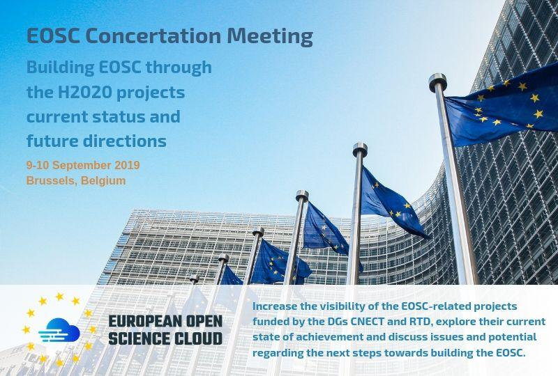 Building EOSC through the H2020 projects - Current status and future directions