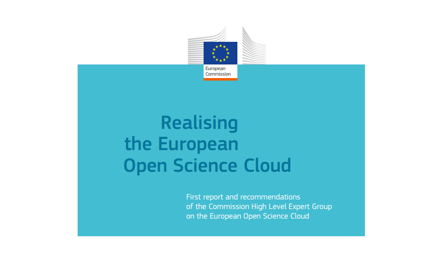 Realising the European Open Science Cloud - a reality by 2020