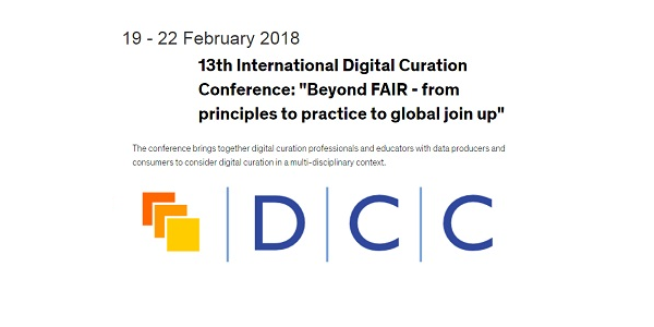 Beyond FAIR: from principles to practice to global join up - Register for IDCC18 in Barcelona - early bird closes 27 January