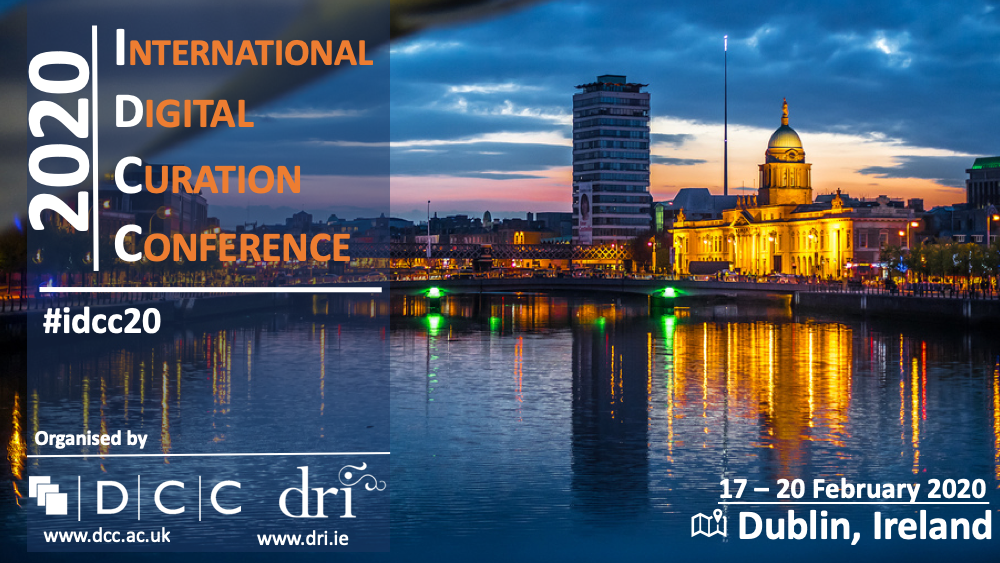 15th International Digital Curation Conference