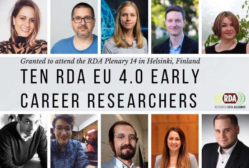 Meet the RDA Europe Early Career grantees joining the 14th RDA Plenary in Helsinki