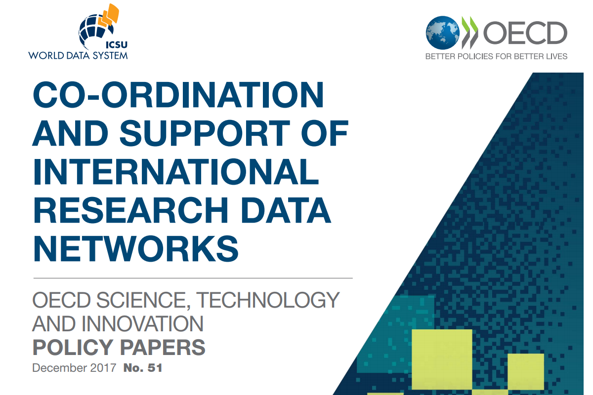 OECD & WDS Policy Paper on Co-ordination and support of international research data networks