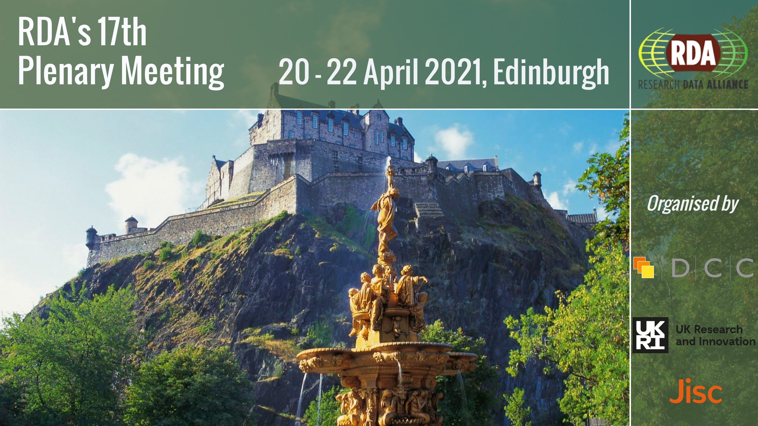 RDA P17 News: Call for sessions, call for posters, speaker spotlight and more