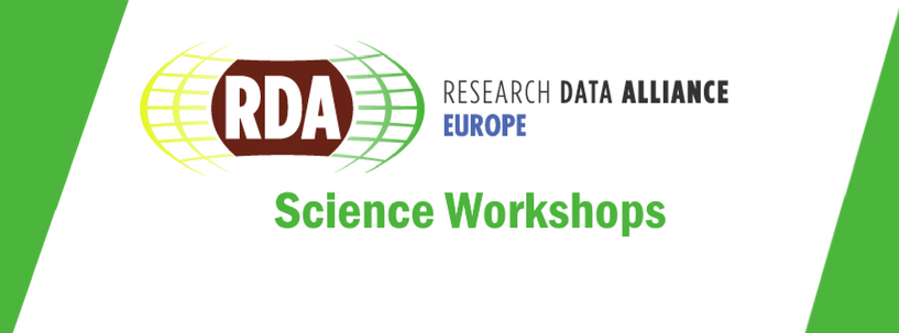RDA Europe Science Workshop 2018, 17-18 January 2018, Amsterdam, The Netherlands