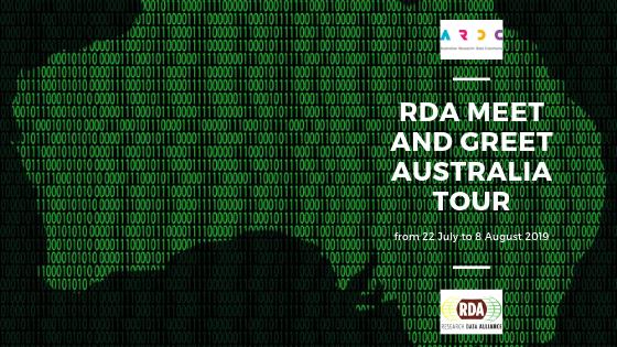 Research Data Alliance meet and greet Australia tour