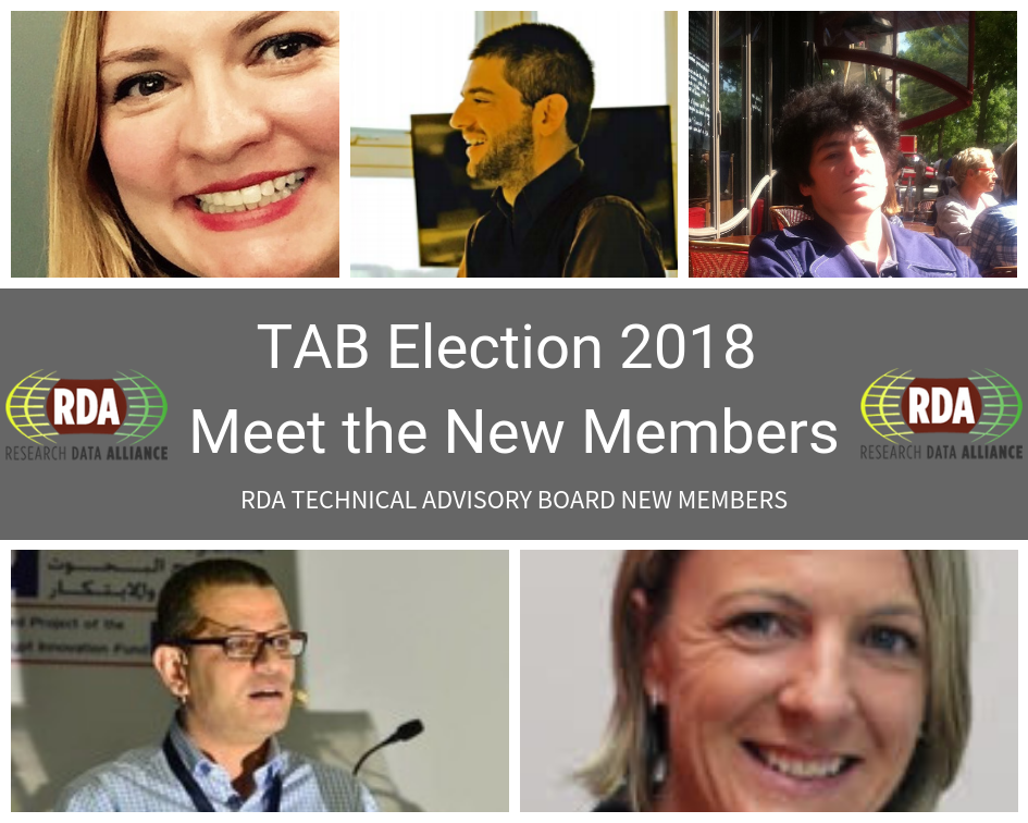 TAB Election 2018 - Meet the New Members
