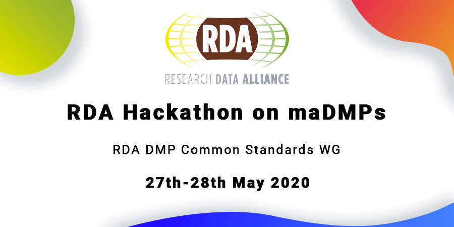 RDA Hackathon on maDMPs