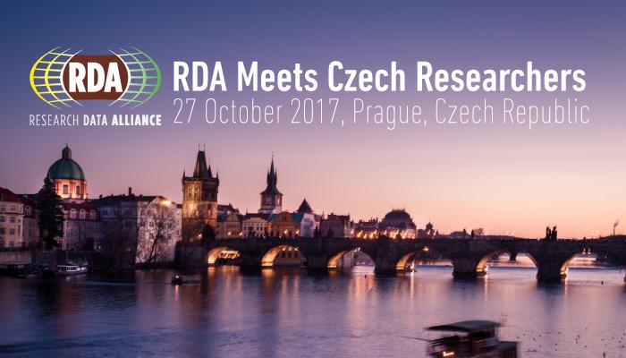 RDA Meets Czech Researchers, 27 October 2017, Prague, Czech Republic