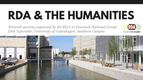 RDA & the humanities. Network meeting in Denmark