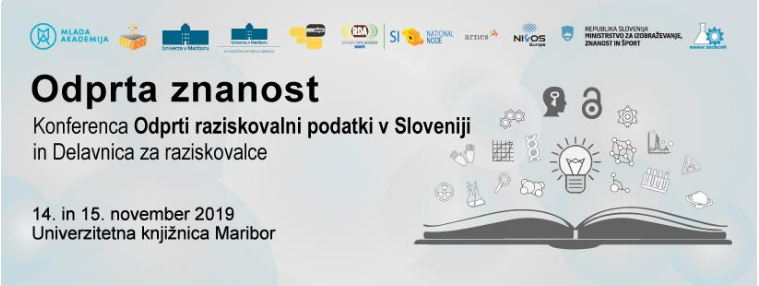 Open science 2019: Open Research Data in Slovenia Conference and Workshop