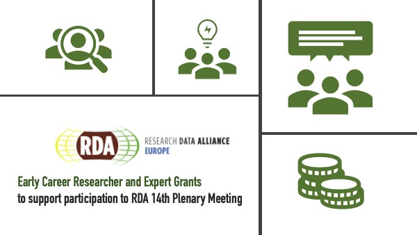 RDA EU Early Career Researchers and Expert travel grants for the 14th RDA Plenary