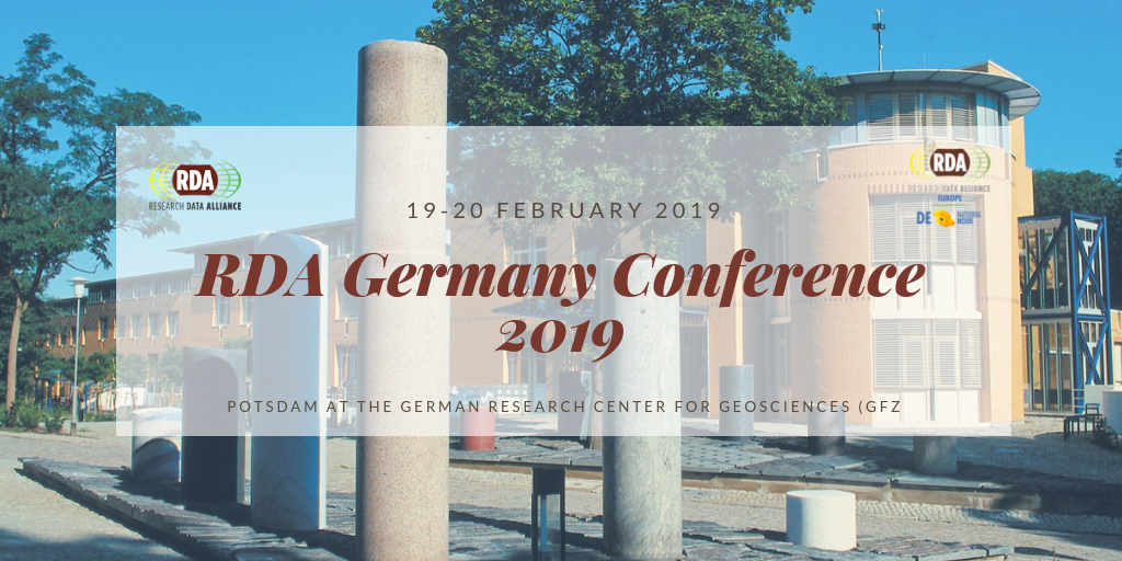 RDA Germany Conference 2019
