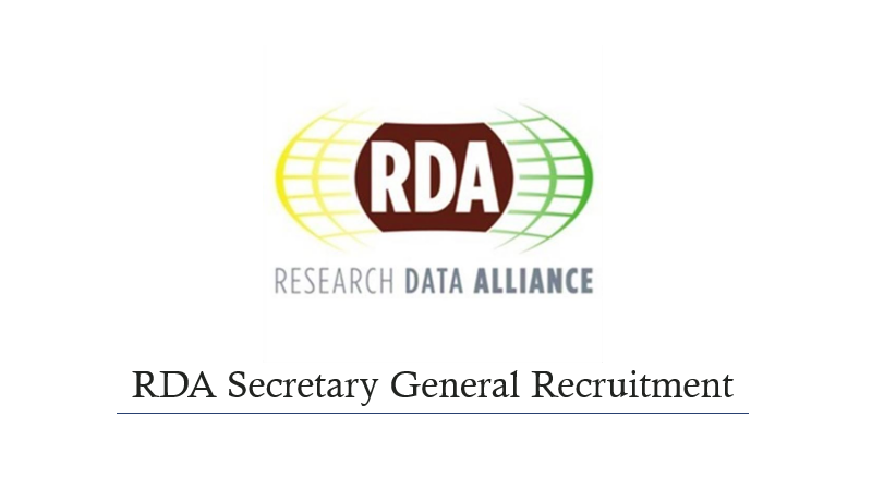 RDA is seeking a Secretary General - deadline extended to the 1st March 2017