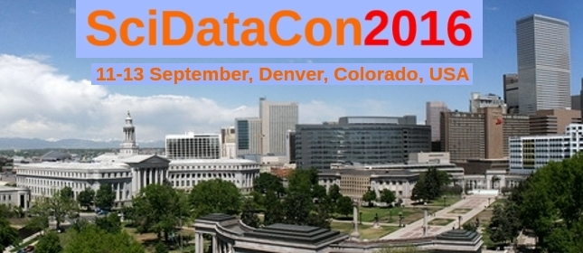 Call for Candidates for the SciDataCon 2016 Programme Committee