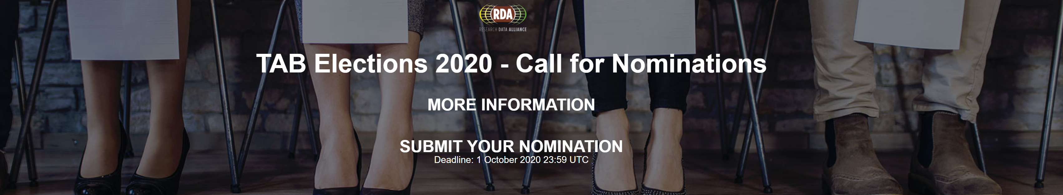 TAB Elections 2020: Call for Nominations now open!