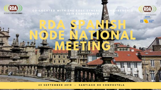 2019 national meeting of the RDA Spanish Node