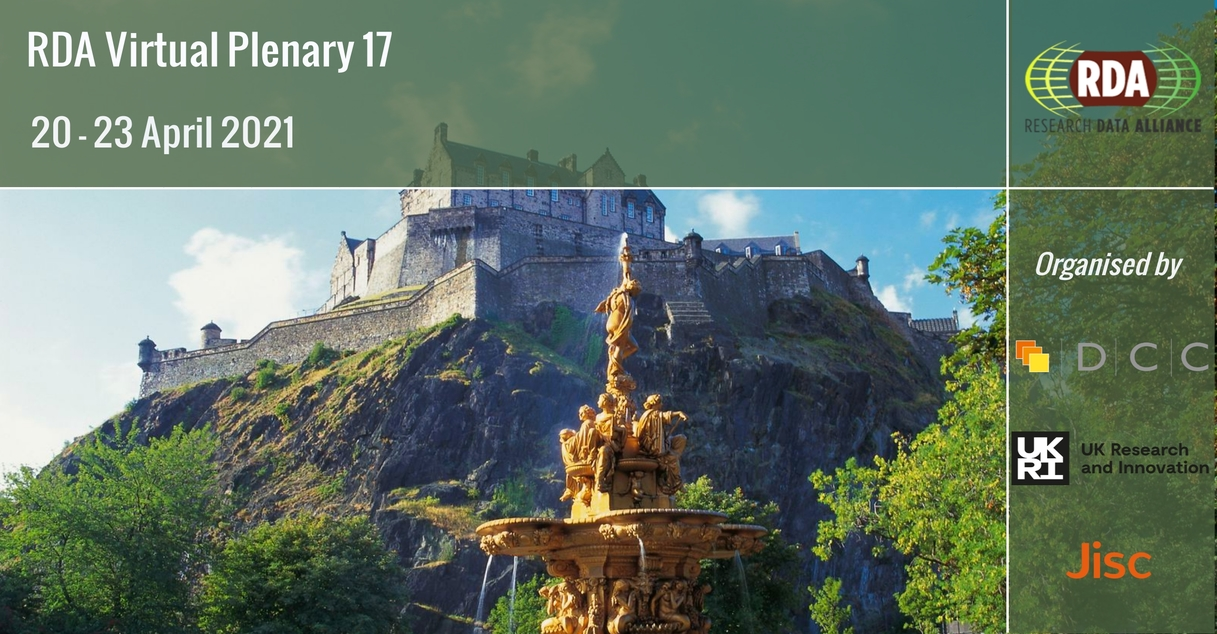 RDA 17th Plenary Meeting - Edinburgh (Virtual)