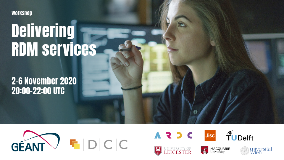 Delivering RDM services workshop – registration open!