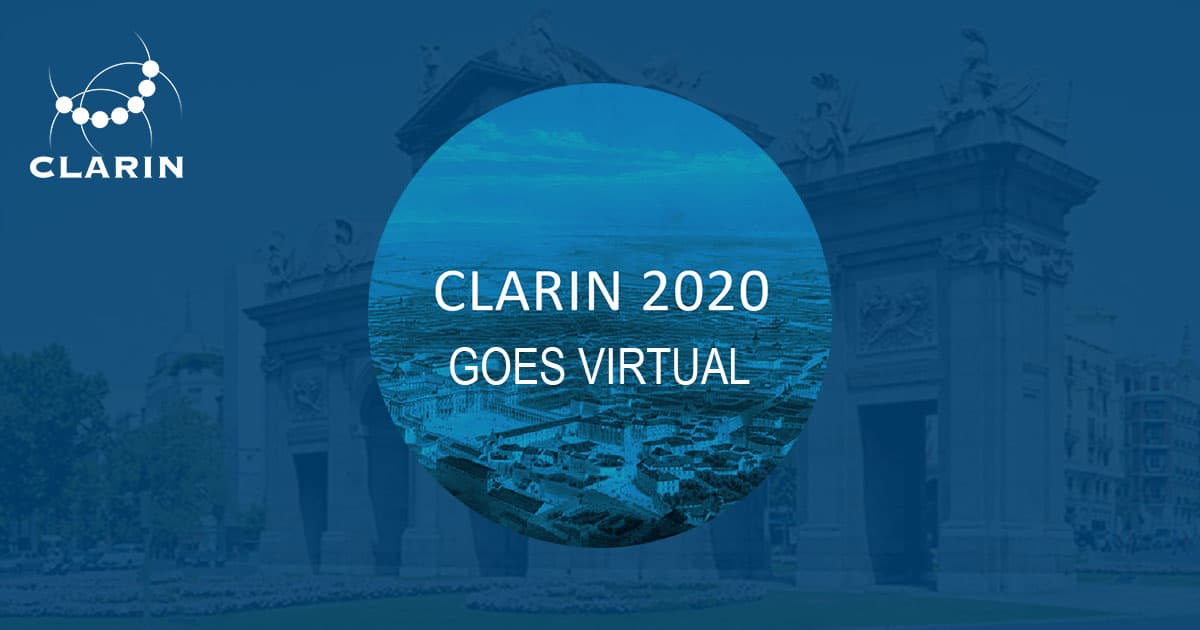 CLARIN Annual Conference 2020