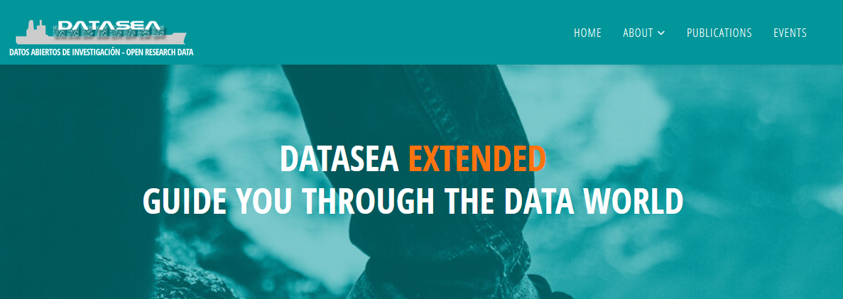 DATASEA EXTENDED Project: a guide through a world of data