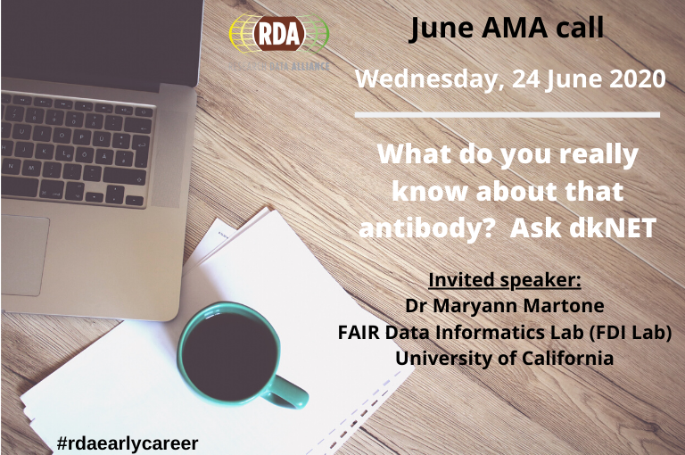 """Ask Me Anything Call On """"What do you really know about that antibody? Ask dkNET"""". Wednesday, June 24th At 14:00-15:00 UTC / 10:00-11:00 EDT"""