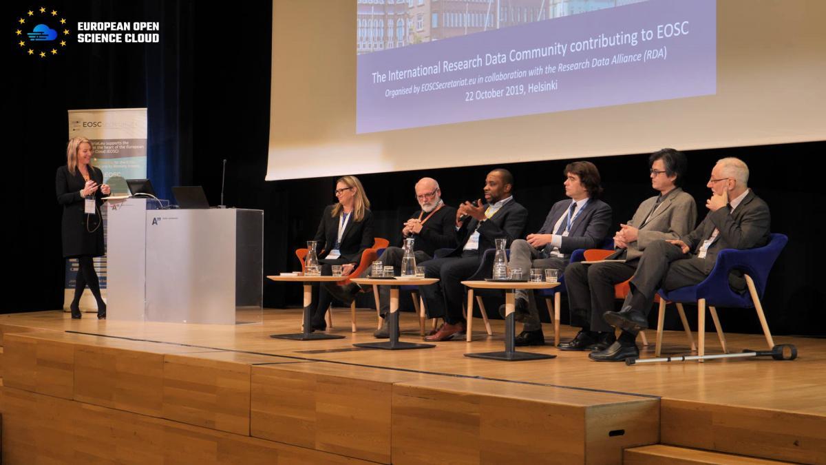 EOSC meets the research data international community at RDA Helsinki