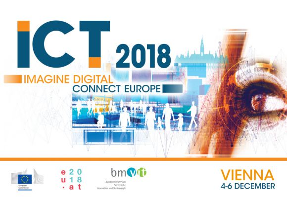 ICT2018: EOSC-hub, OpenAIRE, RDA Europe and FREYA projects opening a joint booth in the European Commission Village