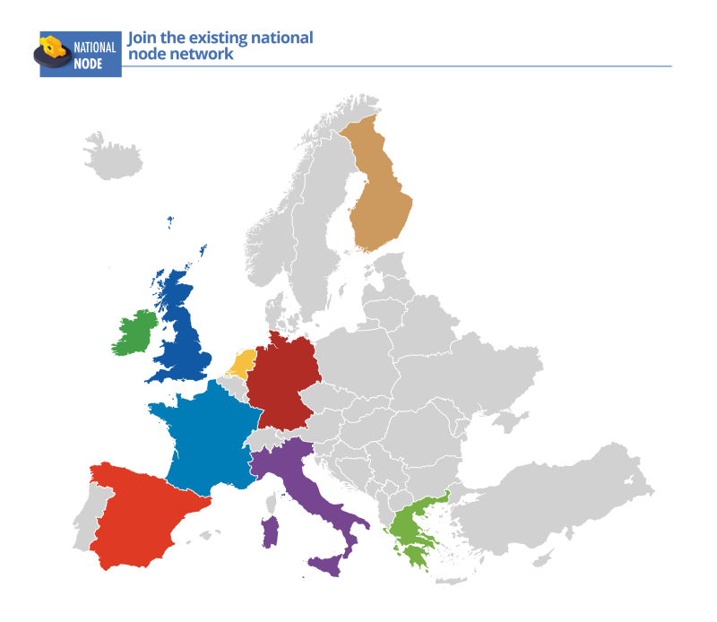 Map Of Germany To Spain.News From Rda Europe National Nodes Rda